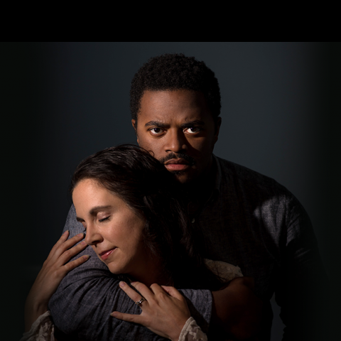 New Light Theatre co-founders Newton Buchanan and Lena Mucchetti star as Othello and Desdemona in the upcoming production of the Shakespeare classic. Photo Lena Mucchetti Photography