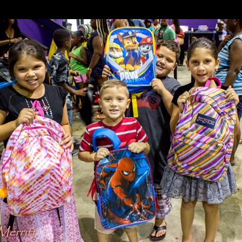 Backpack Giveaway IN Wilmington
