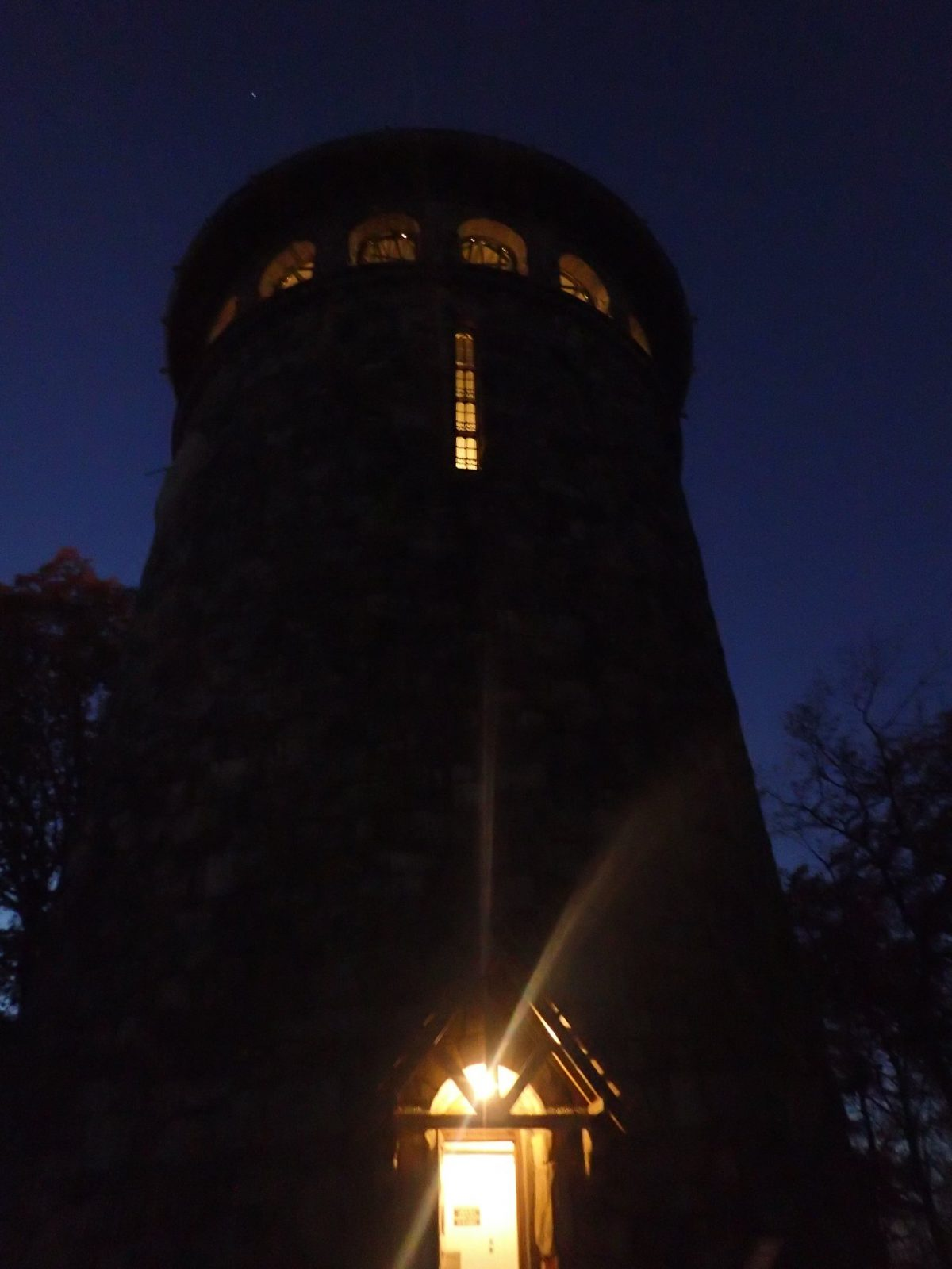 A night at the tower